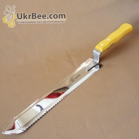 Nóż do odsklepiania plastrów z podwójnymi ząbkami, Jero, 25 sm