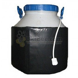 Dekristallizator on a plastic container of 40 liters