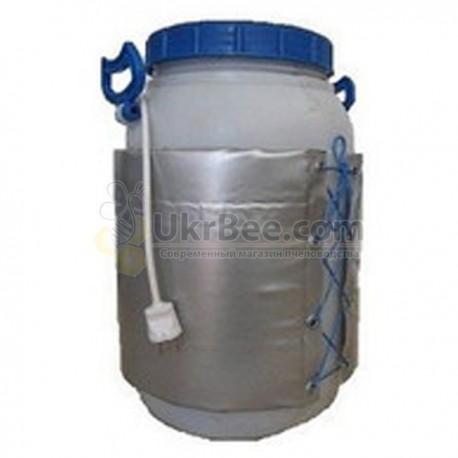 Dekristallizator on a plastic container (60 L),
