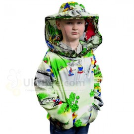 Jacket with mask for children