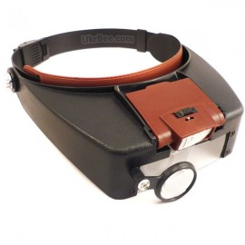 Beekeeping magnifier with removable backlight