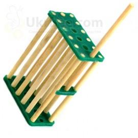 Zelle von Bambus für die Bienenkönigin